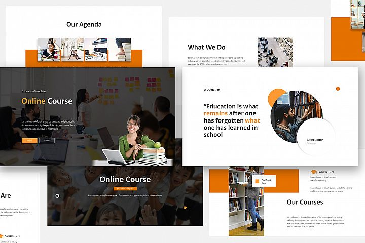 Online Course Keynote Template