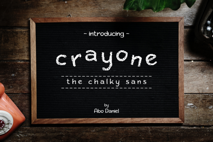 Crayone -The Chalky Sans-
