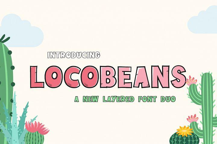 Locobeans Font Duo