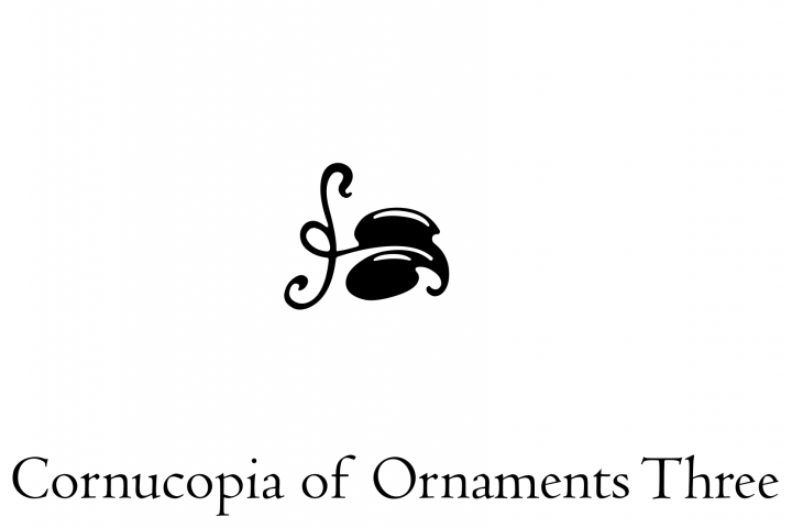 Cornucopia of Ornaments Three