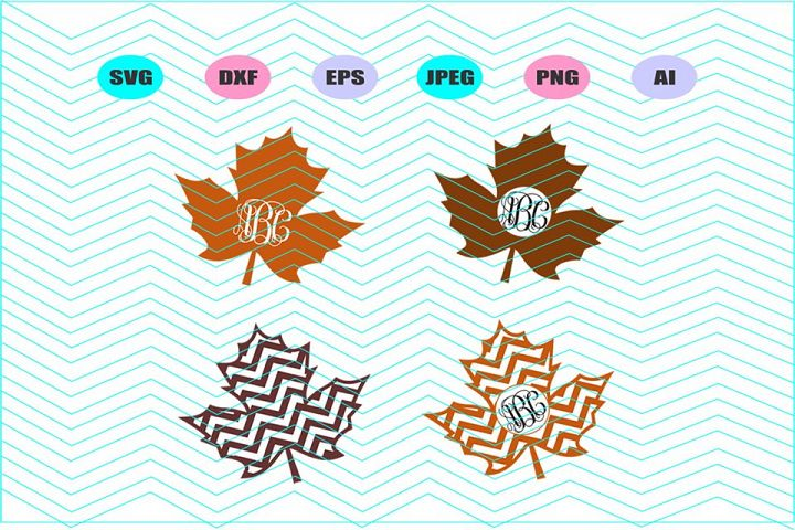 Maple Leaf Svg Vector File Cricut Design Vinyl Decal