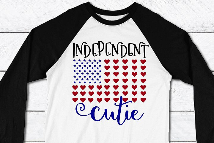 Independent Cutie- SVG/DXF/PNG