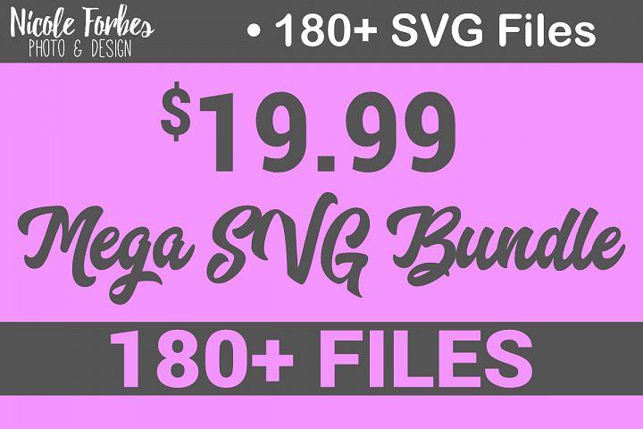 Mega SVG Bundle