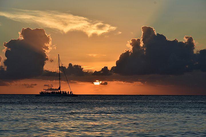Dominican republic  sunset