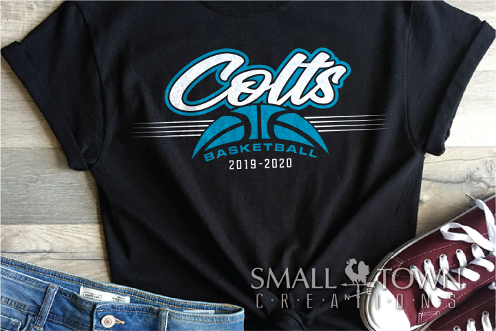 Colts, Colt Basketball, Team, Sport, PRINT, CUT & DESIGN