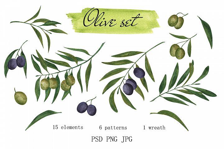 Olive set