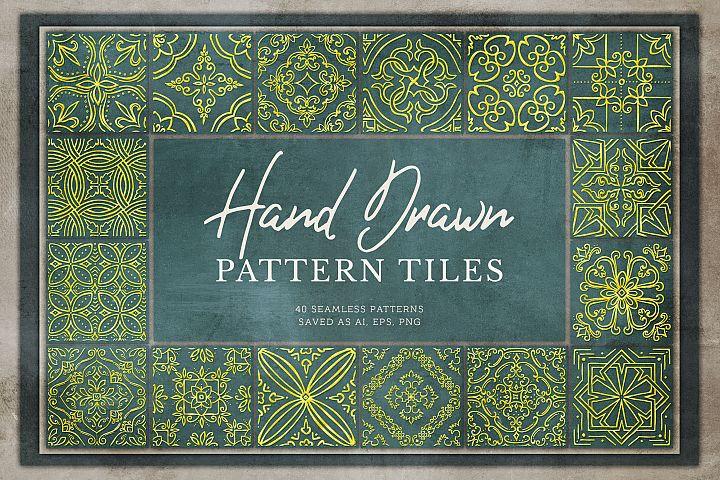 Hand Drawn Pattern Tiles