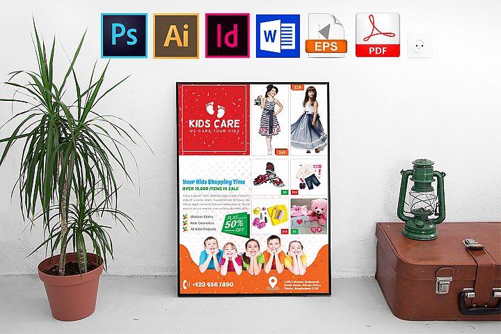 Poster | Kids Fashion Shop Vol-03