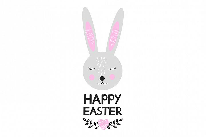 Happy Easter- EPS, Ai, SVG, JPG, PNG