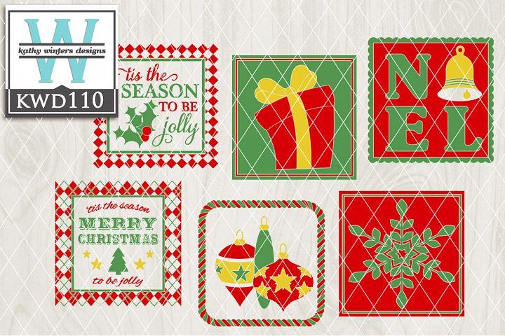 Christmas Cutting Files KWD110