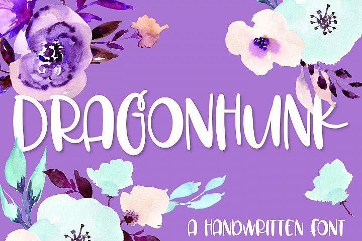 Dragonhunk - A Handwritten Font