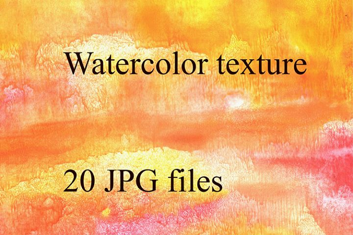 Bright watercolor texture.