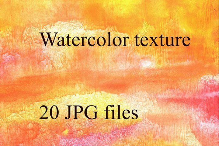 Bright watercolor texture.