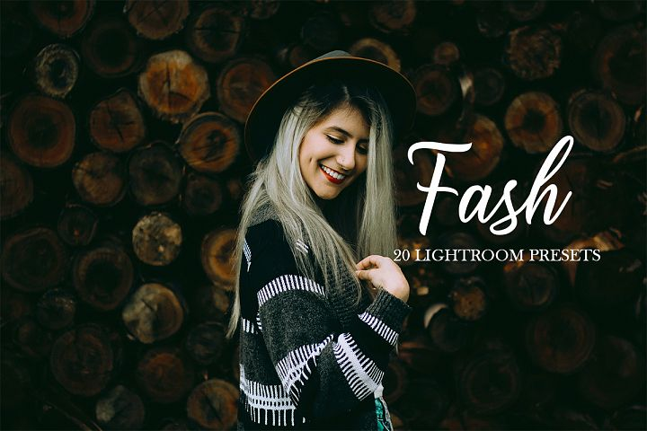 20 Fashion Presets Adobe Lightroom
