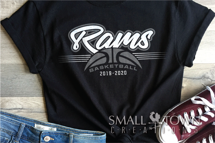 Ram, Ram Basketball, Sports, Design, PRINT, CUT, DESIGN