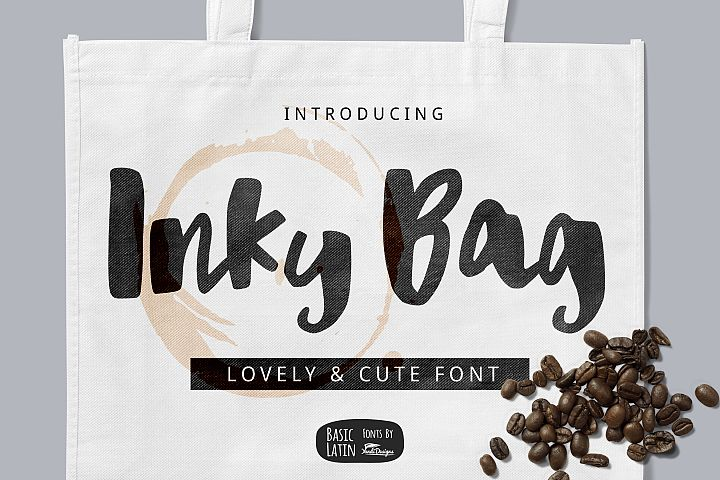 Inky Bag Font