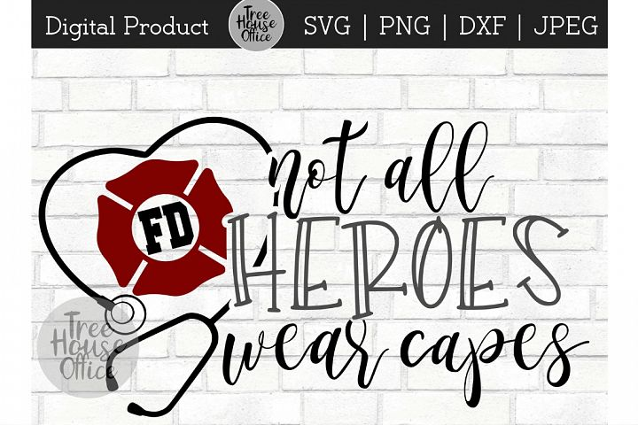 Fireman Hero, Firefighter Fire Service First Responder SVG