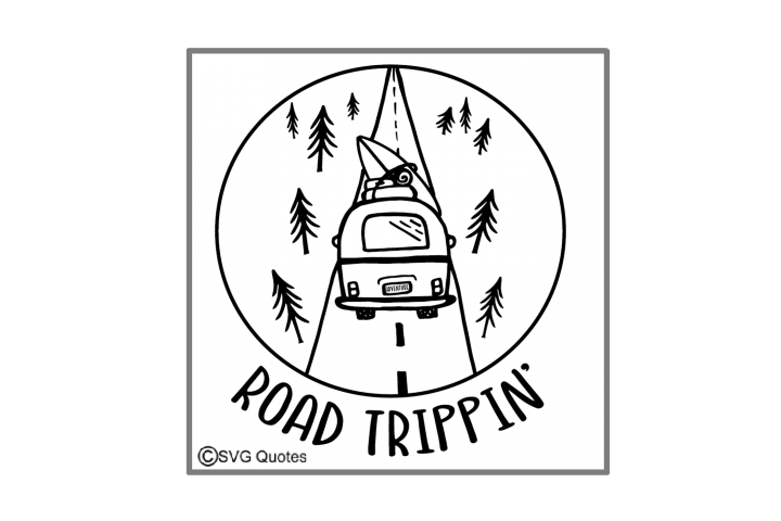 Road Trippin SVG EPS JPG PNG DXF File