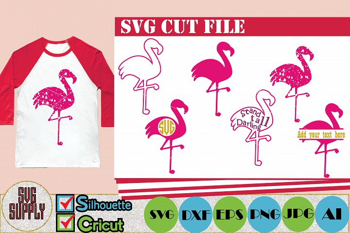 Flamingo SVG Cut File