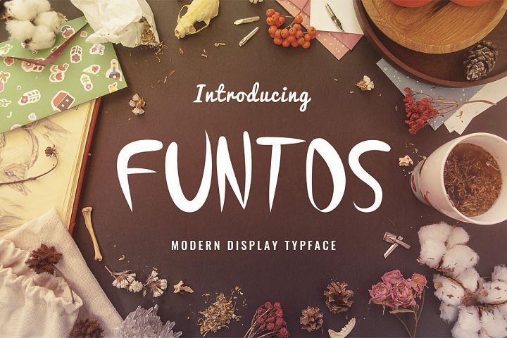 Funtos Typeface
