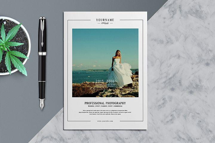 Wedding Photography Brochure/Catalog