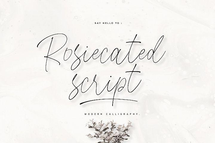 Rosiecated Script!