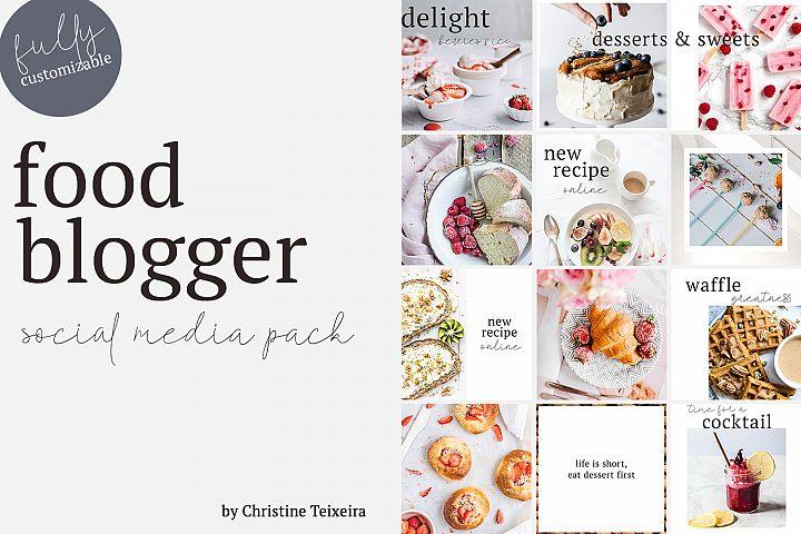 Food Blogger - Social Media Pack