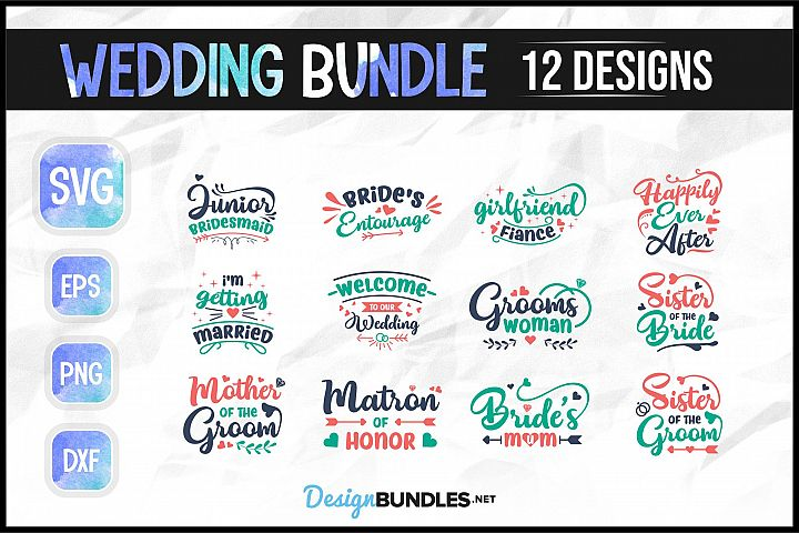 Wedding SVG Bundle