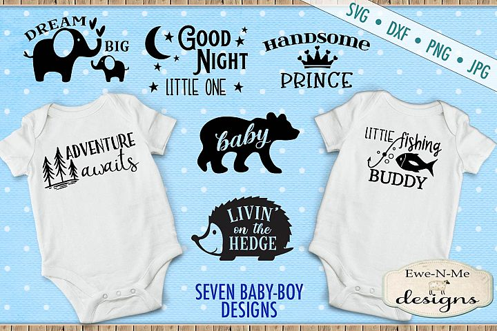 Baby Boy Bundle - Great For Bibs Baby Shirts Burp Cloths