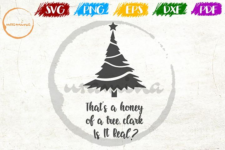 That Is A Honey Of A Tree Christmas SVG PDF PNG