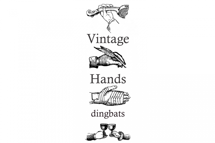 Vintage Hands Two example image 2