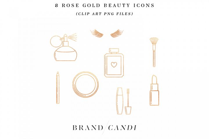 Rose Gold Beauty Icons