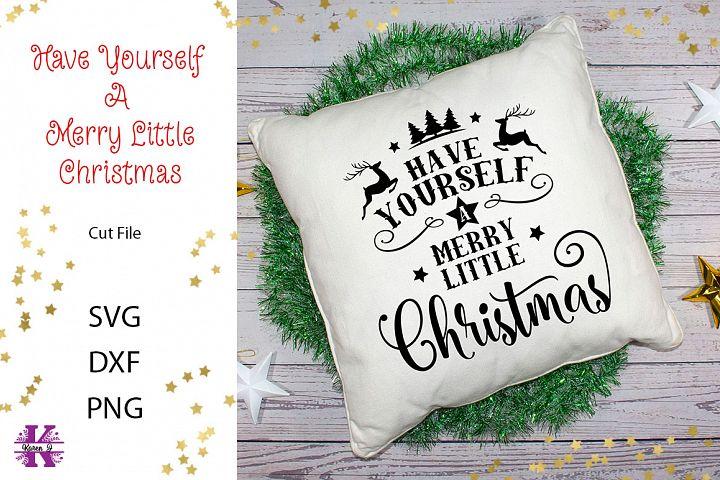 Merry Little Christmas SVG