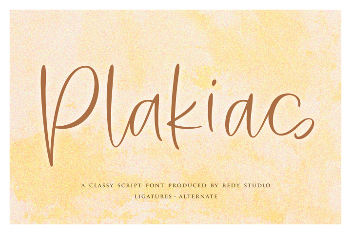 Plakias | Classy Script