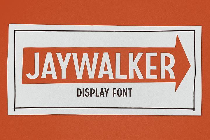 Jaywalker - Display Font