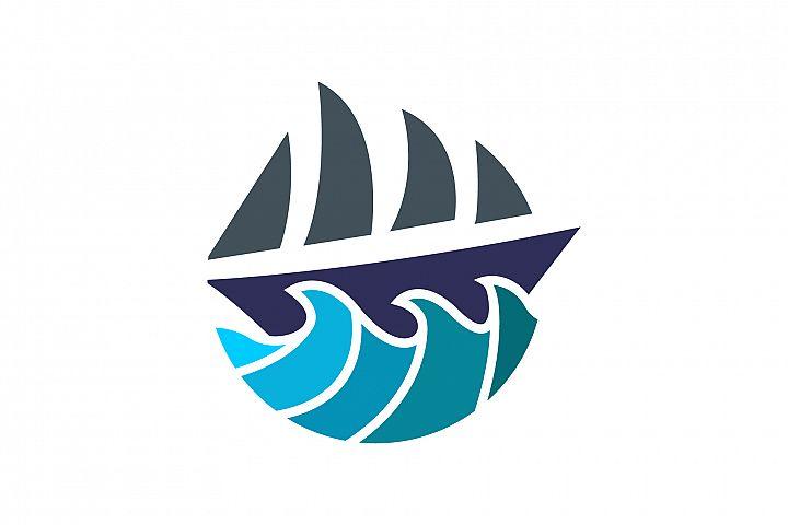 Ship Waves Logo