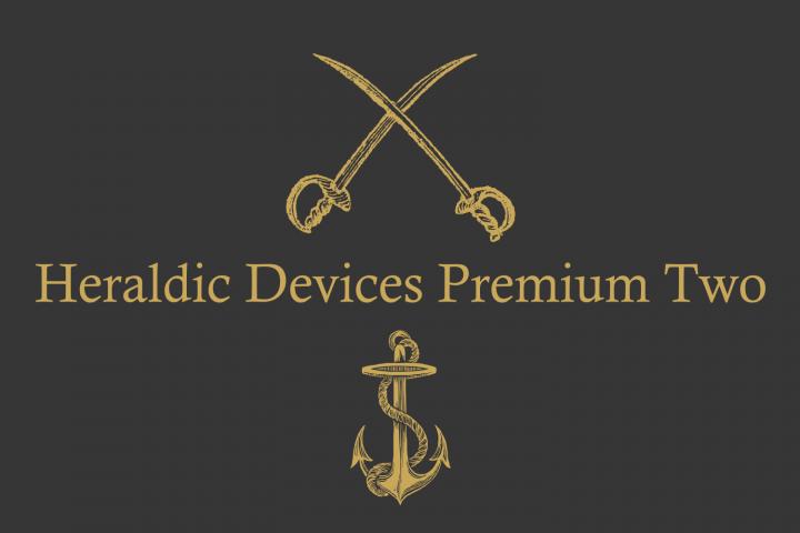Heraldic Devices Premium (pack)  example image 3