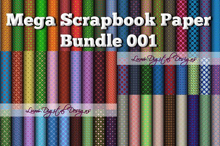 Mega Scrapbook Paper Bundle 001