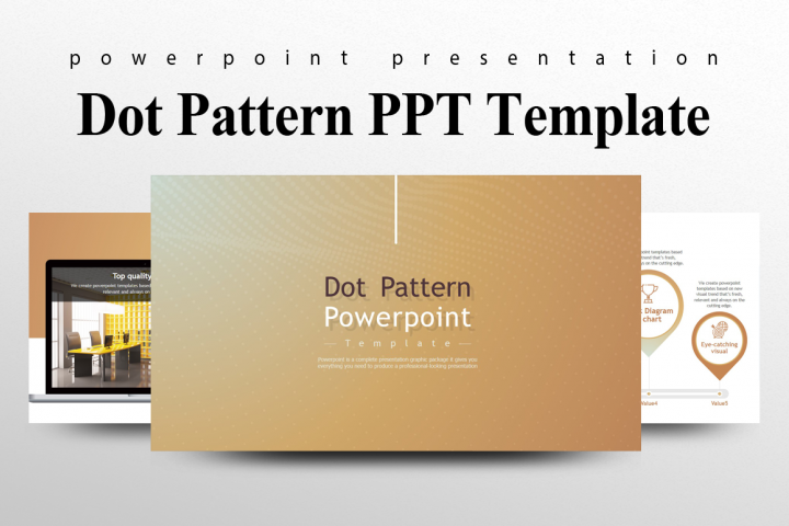 Dot Pattern Presentation Template