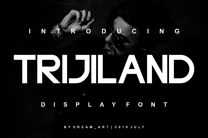 TRIJILAND DISPLAY FONT