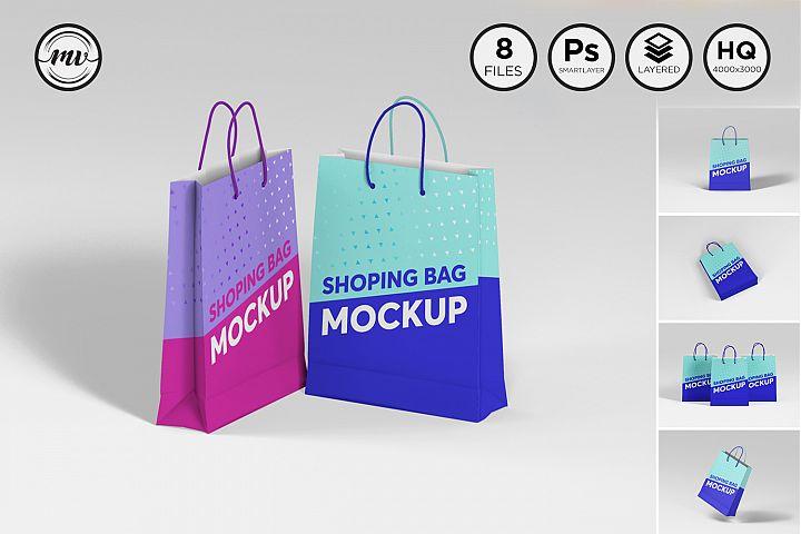 Shopping Bag Mockups V1
