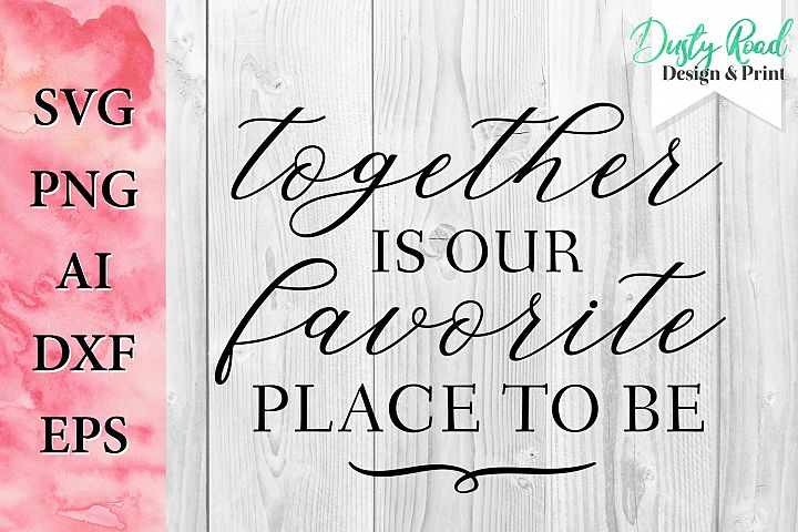 SVG & PNG - together is our favorite place to be