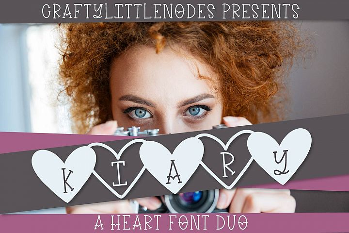 Kiary - A Handwritten Heart Font Duo