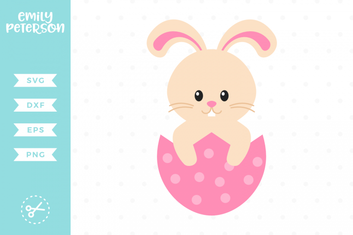 Easter Bunny SVG DXF EPS PNG