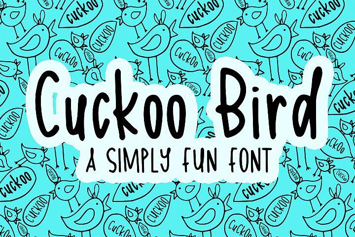 Cuckoo Bird Font