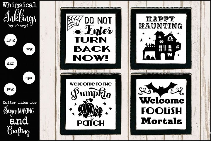 All About Halloween SVG Set