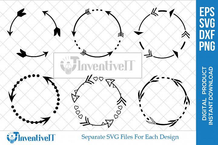 Arrow SVG | Circle SVG | Monogram SVG | Farame SVG |
