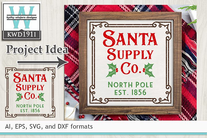 Christmas SVG - Santa Supply Co