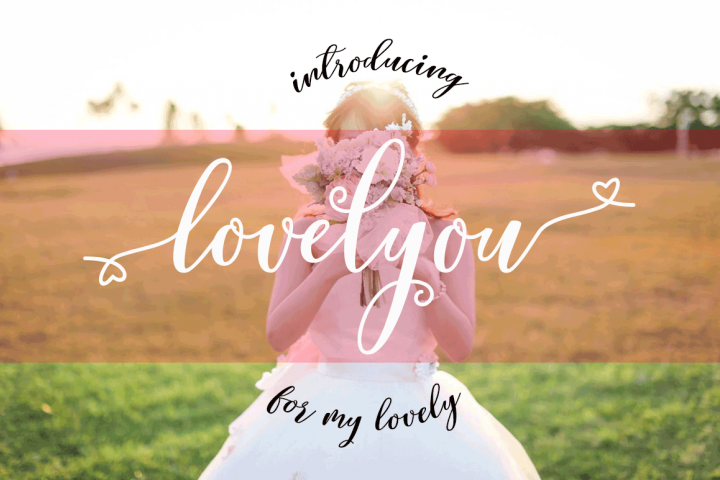 Lovelyou - Free Font of The Week Font