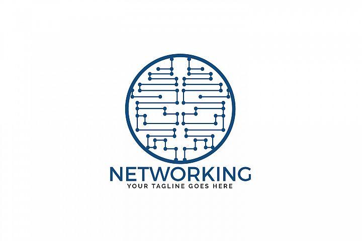 Networking Logo Design.